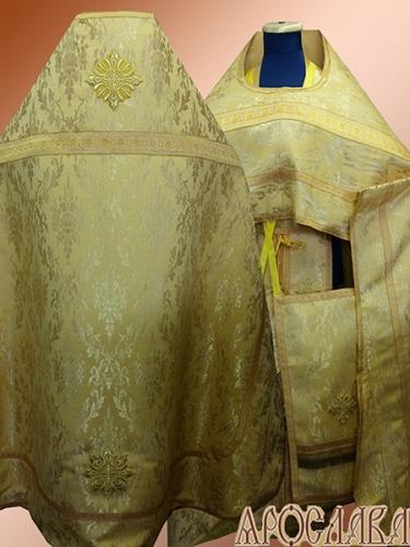 АКЦИЯ. АРТ1353. Риза желтая парча Золотой колос.