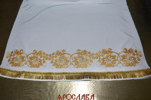 АРТ1511. Подризник вышитый рисунок Кострома.