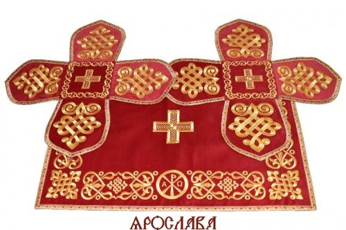 АРТ1513. Покровцы вышитые Византийский.