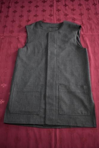 АРТ1690 Жилет мужской летний,ткань меланж, потайная застежка,на подкладе. 177/48-50, Дисп-80см