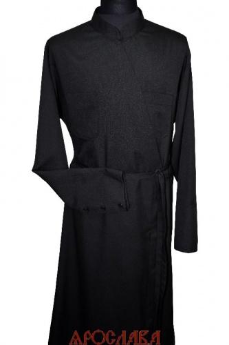 АРТ1908. Подрясник греческий,ткань плотная костюмная,изнаночная сторона на флисе.