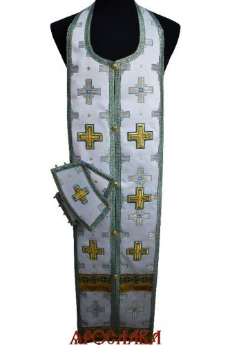АРТ2121. Требный набор шелк Святительский, отделка цветной галун.