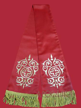 АРТ665. Заклада в Евангелие с вышивкой рисунок Казачий.