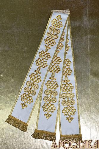 АРТ670. Заклада в Апостол с вышивкой рисунок Византийский.