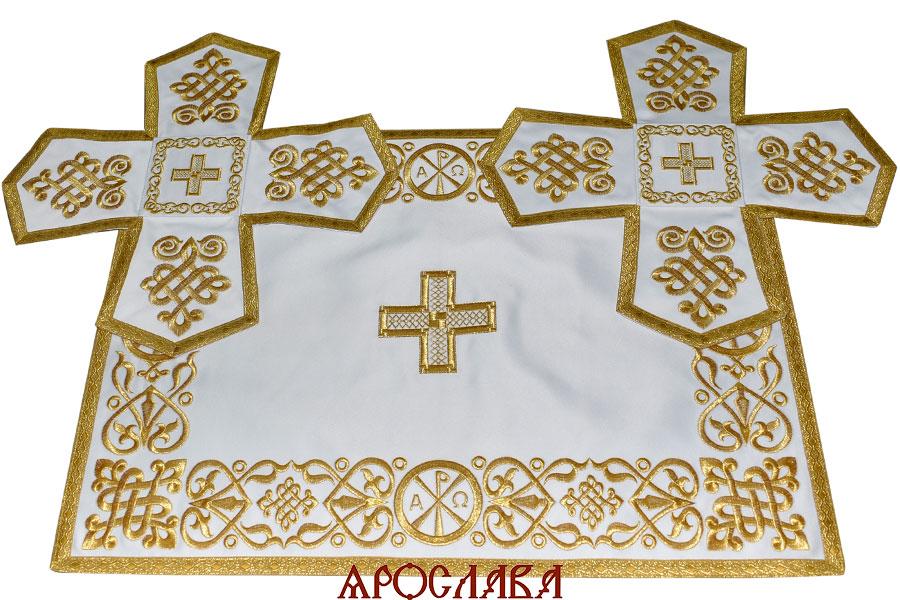 АРТ1011. Покровцы вышитые Византийский.