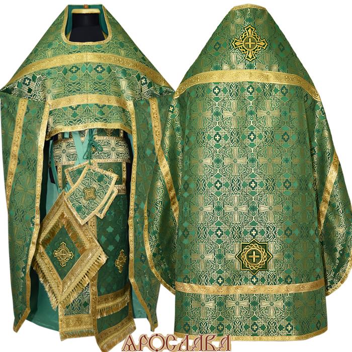 АРТ109.Риза шелк Византийский,обыденная отделка.