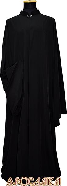 АРТ1108. Ряса греческая, ткань черная полушерсть.