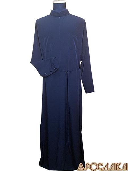 АРТ1122. Подрясник-платье основа греческая, мокрый шелк, на молнии.