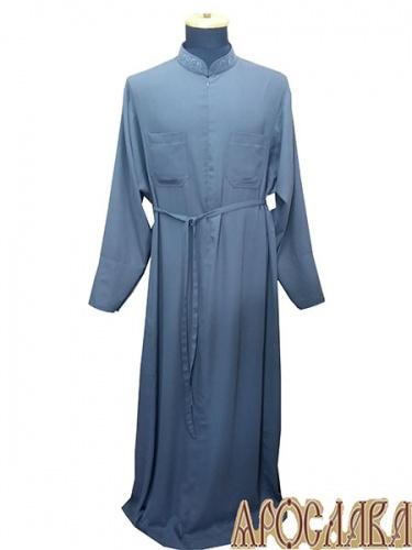 АРТ1149. Подрясник-платье основа греческая, вискоза, на молнии.