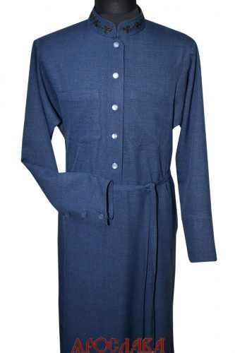 АРТ1172. Подрясник-платье основа греческая. Ткань меланж.