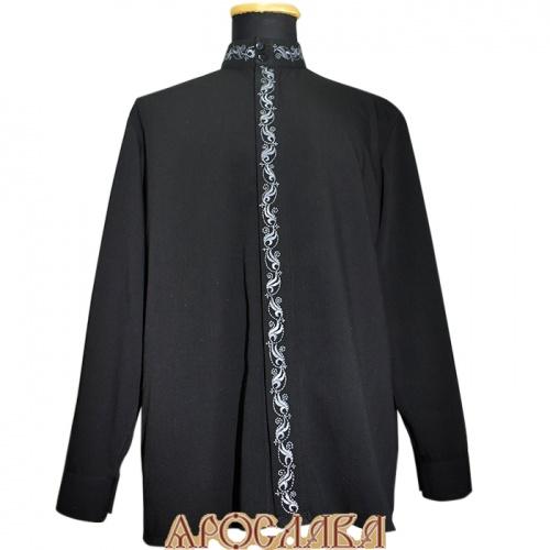 АРТ1220. Рубашка . Ткань хлопок, вышитый ворот,планка.рис.№2