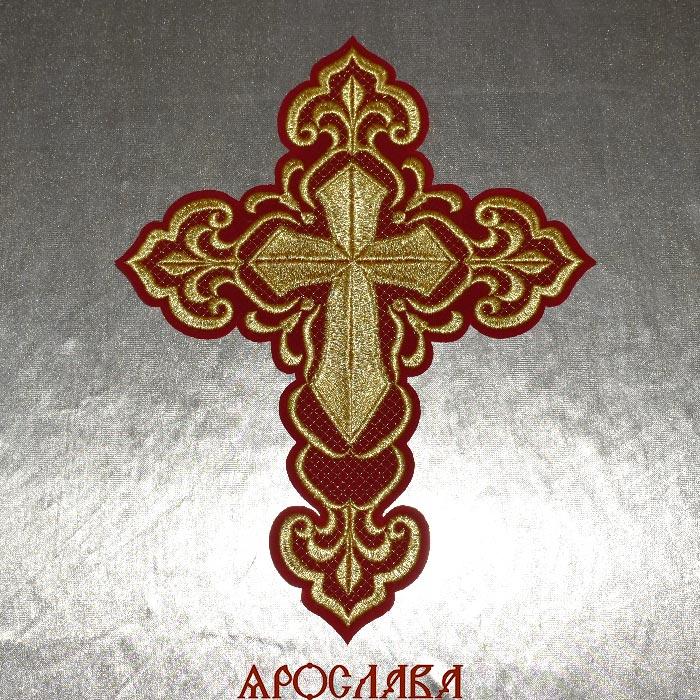 АРТ1325. Крест вышитый