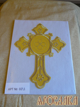 АРТ1333. Крест вышитый