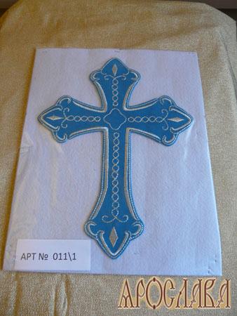 АРТ1336. Крест вышитый