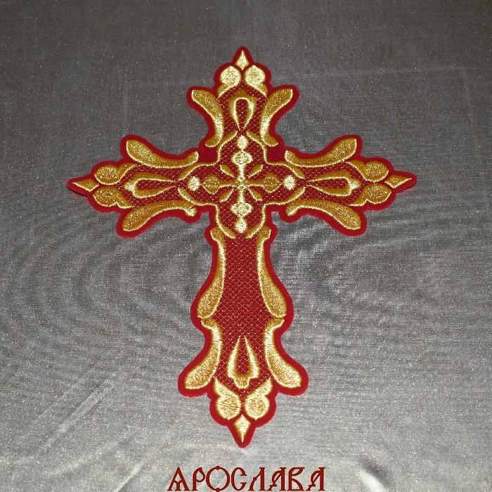 АРТ1339. Крест вышитый