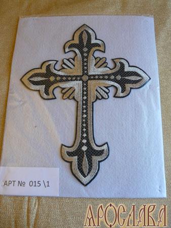 АРТ1340. Крест вышитый
