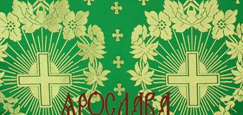 АРТ1416. Шелк церковный Рождественский