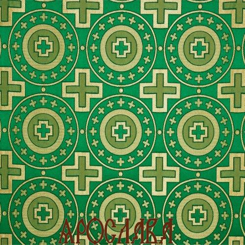 АРТ1432. Шелк церковный Мирликийский крест