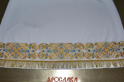 АРТ1510. Подризник вышитый рисунок Параскева.