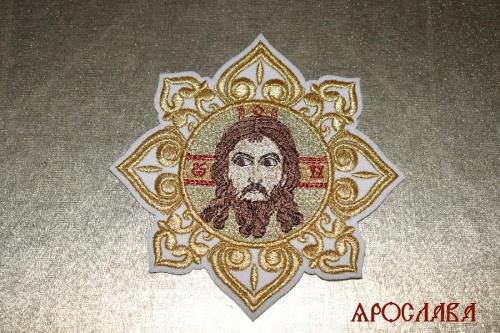 АРТ1519. Икона Спас Нерукотворный образ в звездице.