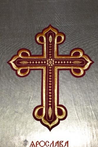 АРТ1589. Крест вышитый