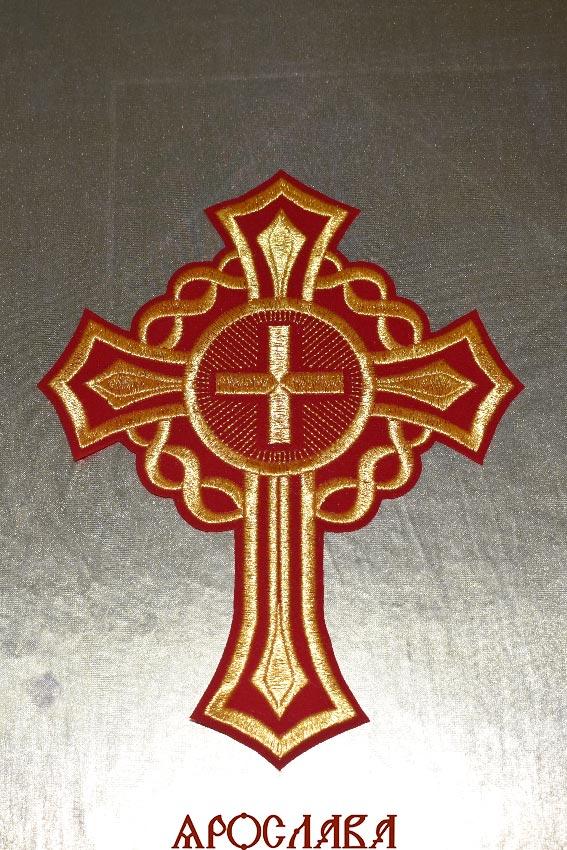 АРТ1590. Крест вышитый
