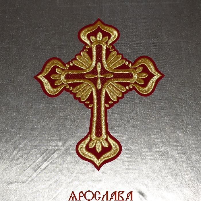 АРТ1591. Крест вышитый