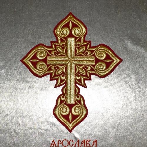 АРТ1592. Крест вышитый