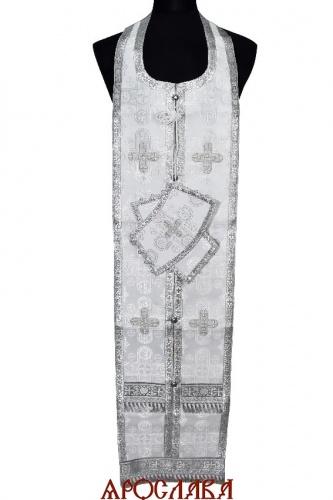 АРТ1629.  Требный набор белый шелк Вифлием,обыденная отделка.