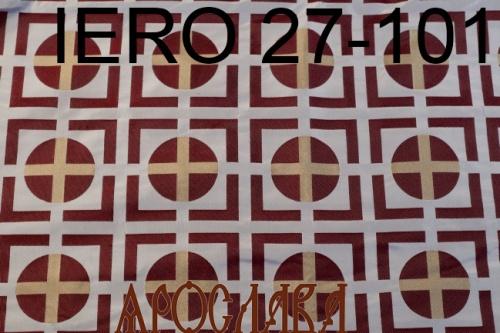 АРТ1663. Греческая парча IERO 27