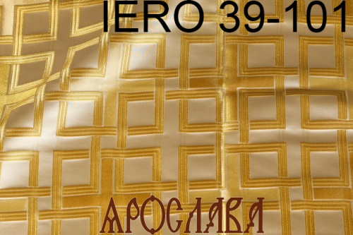АРТ1674. Греческая парча IERO 39