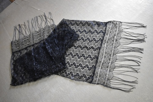 АРТ1701 Шарф. Ткань гипюр.