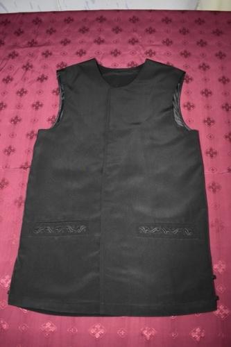 АРТ1714 Жилет мужской летний,ткань мокрый шелк, потайная застежка,прорезные карманы,на подкладе .176/50 (ОГ-100см)