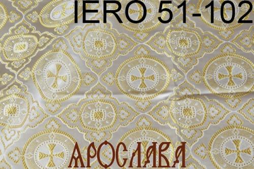 АРТ1757. Греческая парча IERO 51