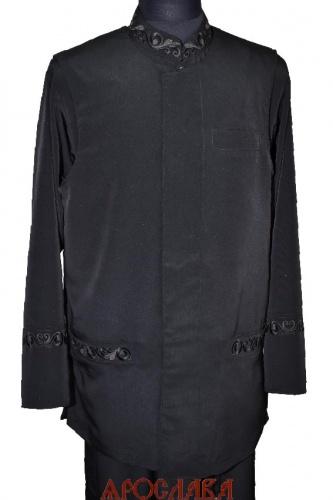АРТ1769. Жилет летний на подкладе,вышитые нижнии прорезные карманы,потайная застежка.Ткань креп-шелк.