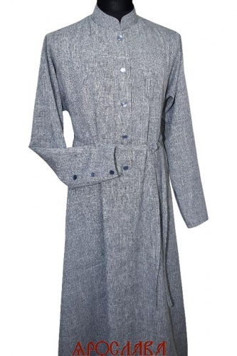 АРТ1810. Подрясник-платье основа греческая. Ткань меланж.