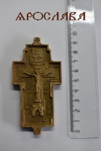 АРТ1904. Крест параманный, деревянный.Высота 9,3 см (19303).