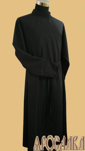 АРТ1907. Подрясник русский,ткань плотная костюмная,изнаночная сторона на флисе.