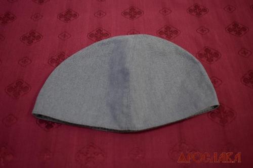 АРТ1935. Скуфия женская,ткань лен. Подклад хлопок.
