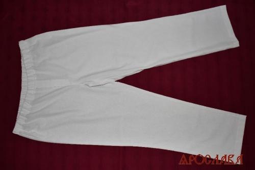АРТ2020. Штаны на резинке, ткань лен.