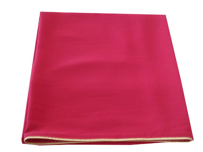АРТ311.Илитон на престол, с золотым кантом. Ткань однотонный атласный шелк. Размер 80*70.