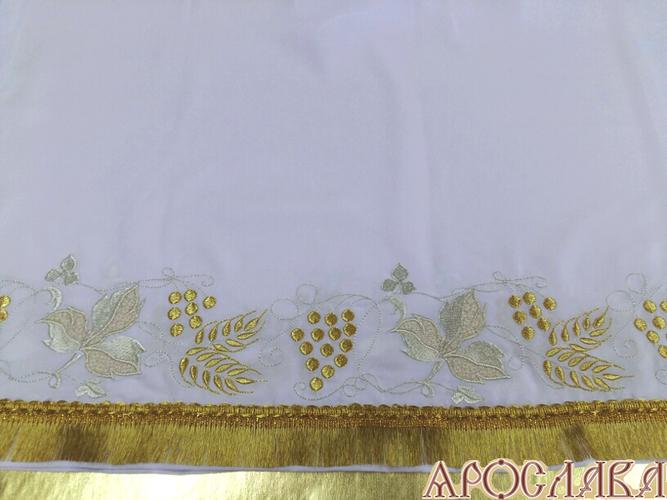 АРТ561. Подризник вышитый рисунок Виноград.