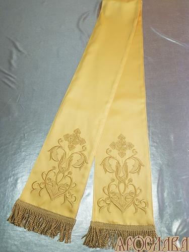 АРТ633. Заклада в Евангелие с вышивкой рисунок Греческий.
