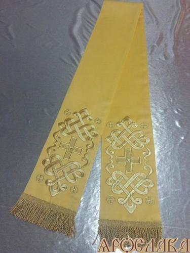 АРТ637. Заклада в Евангелие с вышивкой рисунок Византийский.