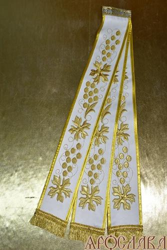 АРТ671. Заклада в Апостол с вышивкой рисунок Виноград.