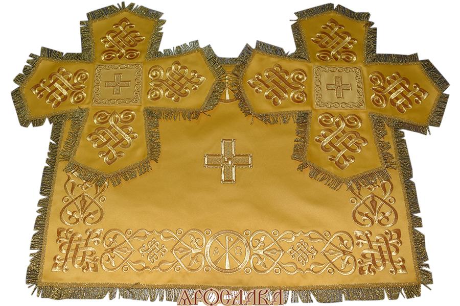 АРТ707. Покровцы вышитые Византийский.