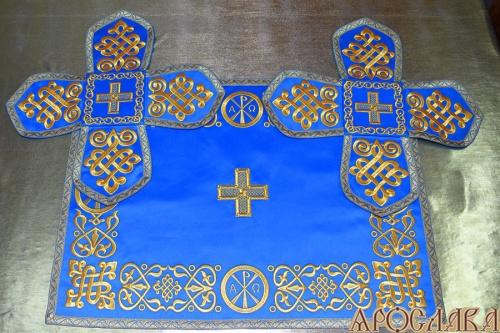 АРТ714. Покровцы вышитые Византийский.