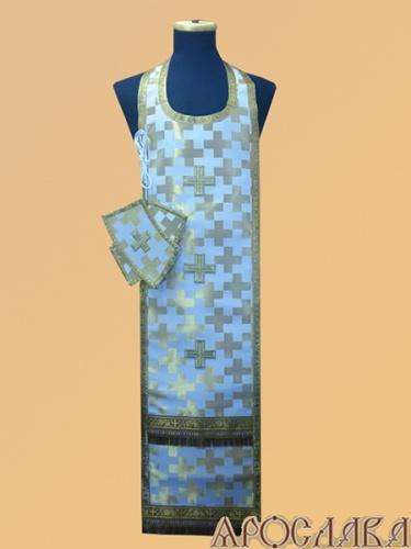 АРТ969. Требный набор церковный шелк,обыденная отделка.