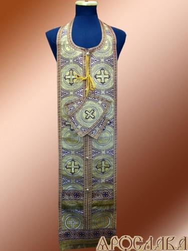 АРТ970. Требный набор парча Коринф, отделка цветной галун.