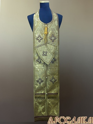 АРТ972. Требный набор парча Корона, отделка цветной галун.